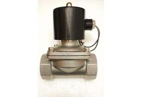 Solenoid Valve (SOV) Full Bore, SS, 1-1/2, 220 VAC, Made in PRC